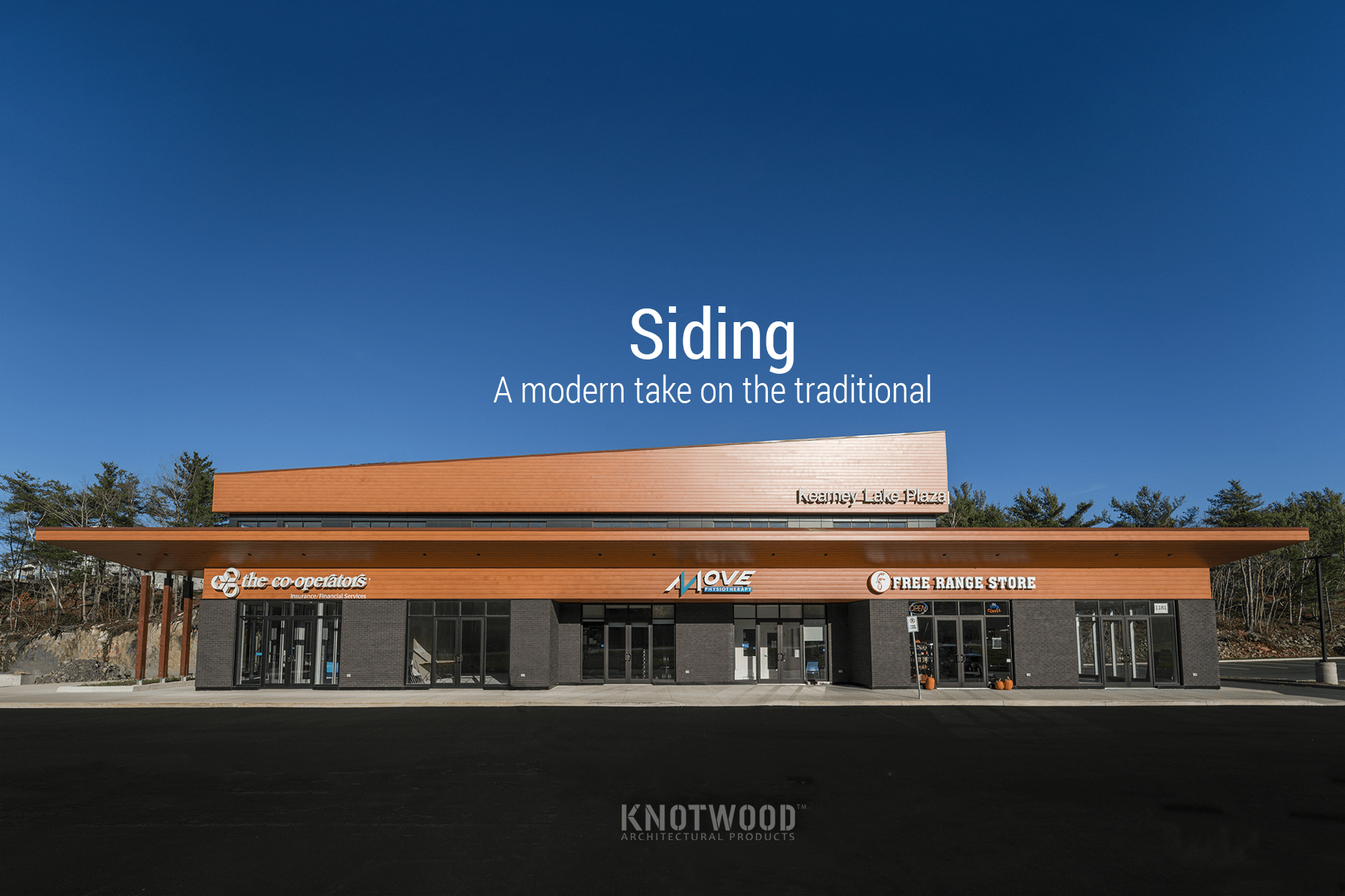 , Siding, Knotwood Architectural Products, Knotwood Architectural Products